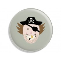 Ava & Yves Button PIRATE