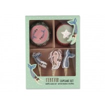 Ava & Yves Cupcake Set MERMAID