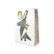 """Ava & Yves Gift Bag CROCODILE """"Endlich Schulkind"""""""