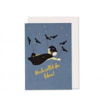 """Ava & Yves Birthday Card MAGICIAN """"Hoch sollst du leben!"""""""