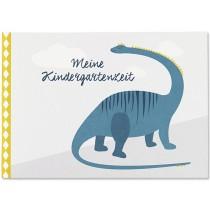 Ava & Yves Kindergarten Memory Book DINOSAUR
