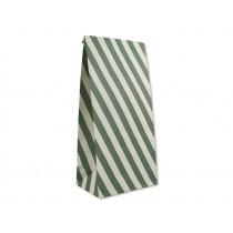 Ava & Yves Gift Bags STRIPES creme/green
