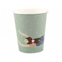 Ava & Yves Paper Cups MERMAID