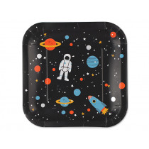 Ava & Yves Paper Plates SPACE