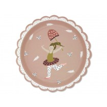 Ava & Yves Paper Plates CIRCUS GIRL