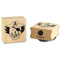 Ava & Yves Rubber Stamp PIRATE