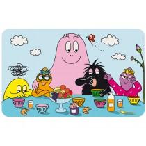 Spreading plate Barbapapa and kids by Petit Jour