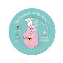 Barbapapa plate Barbamousse
