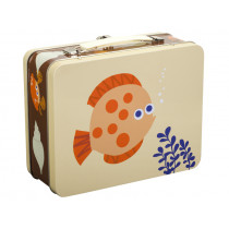 Blafre Metal Lunchbox SEA CREATURES