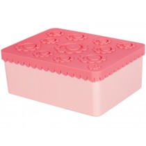 Blafre lunchbox flowers pink