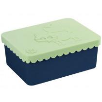 Blafre Lunchbox FOX light green-navy small