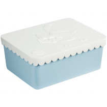 Blafre lunchbox fox white small