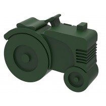 Blafre lunchbox tractor dark green