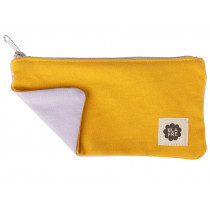 Blafre Pencil PENCIL CASE yellow / lilac