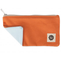Blafre PENCIL CASE orange / light blue