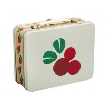 Blafre Metal Lunchbox LINGONBERRY
