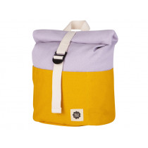 Blafre Backpack ROLLTOP yellow / lilac 1-4 years