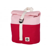 Blafre Backpack ROLLTOP red / pink 1-4 years