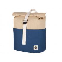 Blafre Backpack ROLLTOP navy blue / beige 3-7 years