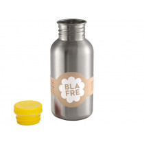 Blafre steel bottle yellow