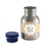 Blafre steel bottle small dark blue