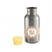 Blafre steel bottle pastel yellow