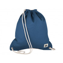 Blafre DRAWSTRING BAG navy blue / beige