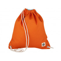 Blafre DRAWSTRING BAG orange / light blue