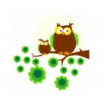 Blafre wall stickers owl