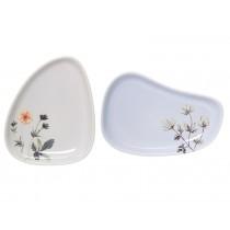 Bloomingville Ceramic Plate Flora