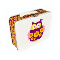 Blafre metal lunchbox owl