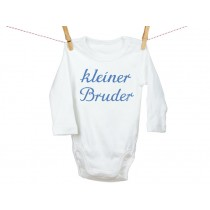 "Iron-on patch ""Kleiner Bruder"" by krima & isa"