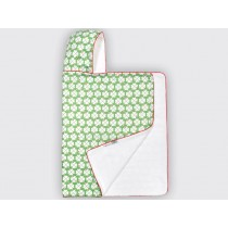 byGraziela hooded towel lucky clover green