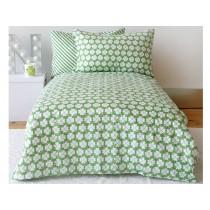 by Graziela lucky clover bedding set green
