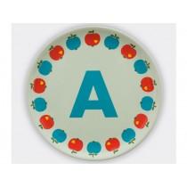byGraziela ABC melamine side plate - A