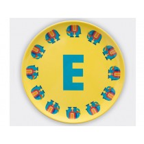 byGraziela ABC melamine side plate - E