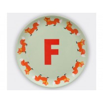 byGraziela ABC melamine side plate - F