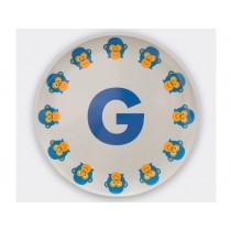 byGraziela ABC melamine side plate - G