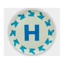 byGraziela ABC melamine side plate - H