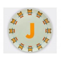 byGraziela ABC melamine side plate - J