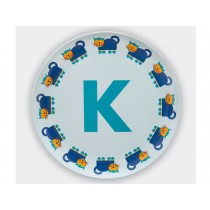 byGraziela ABC melamine side plate - K