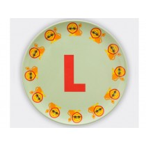 byGraziela ABC melamine side plate - L
