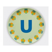 byGraziela ABC melamine side plate - U