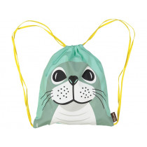 Coq en Pâte Drawstring Bag SEAL