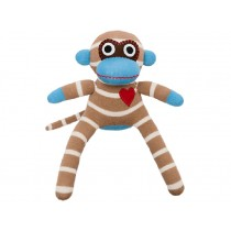 Hickups sock monkey mini creme/brown