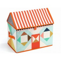 Djeco Toy Storage Box HOUSE