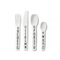 DESIGN LETTERS Kids Melamine Cutlery-Set