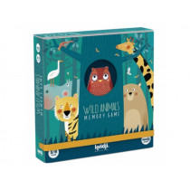 Londji Memory Game WILD ANIMALS