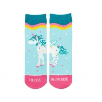 Spiegelburg Magic Socks UNICORN turquoise