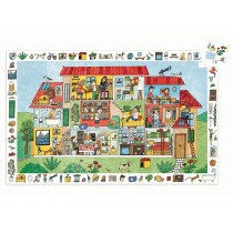 Djeco Observation Puzzle THE HOUSE (35 pieces)